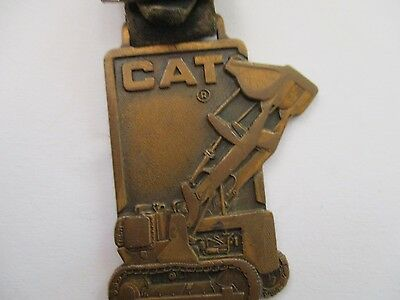 Cat Caterpillar Watch Fob Tractor