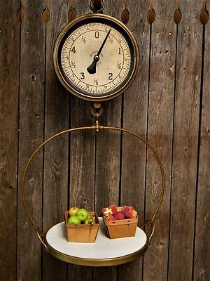 Antique General Store John Chatillon & Sons Hanging Produce Scale Stunning!
