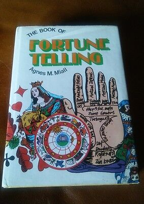 The Book of Fortune Telling by Agnes M Miall VINTAGE 1972