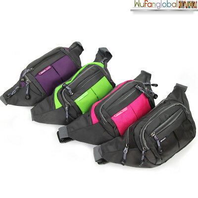 Handy Waist Belt Running Climbing Hiking Sport Bum Bag Fanny Pack Zip Pouch AU