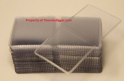 100 Coin Holder Flip 2x2 Double Pocket Vinyl 7mil Thick Guardhouse Storage Flips