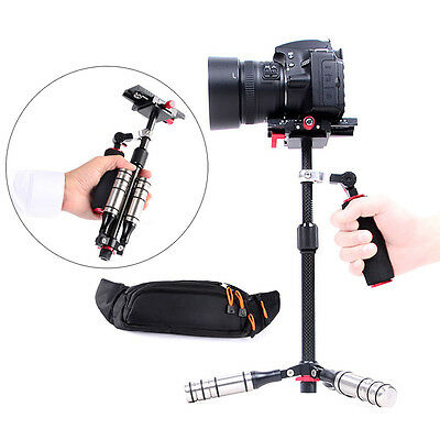 Professional Carbon Fiber Handheld Steady Stabilizer For Camcorder DSLR Camera