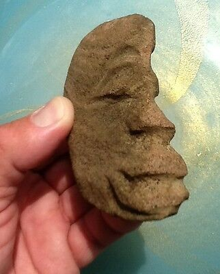 Pre Columbian Carved Stone Figure Ancient Olmec/Mayan/Oceana/Polynesian/Hawaiian