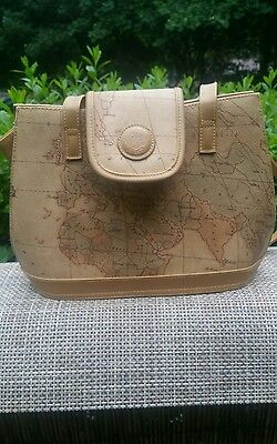 Missionary Purse Map of World Vintage