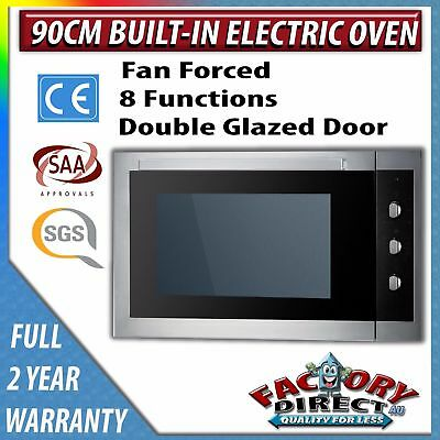 Adelchi NEW 60cm STAINLESS STEEL FAN FORCED DIGITAL ELECTRIC WALL OVEN