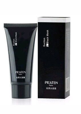 Pilaten Blackhead Remover Black Mud Deep Cleansing Purifying Peel Off Face Mask