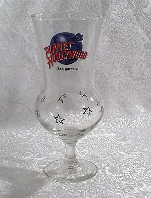 Planet Hollywood San Antonio Hurricane Glass Closed 2001 - RARE