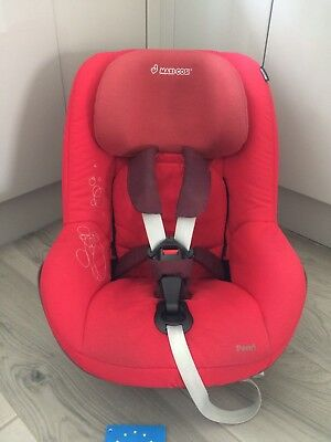 Maxi Cosi Pearl Car Seat In Red