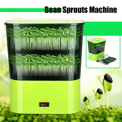 220V 15W Household Multi-functional Automatic Double Layer Bean Sprouts Machine