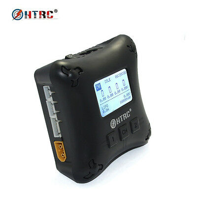HTRC H4AC DUO Mini RC Charger Dual Port 20w x2 2A x2 for 2-4s Lipo Battery