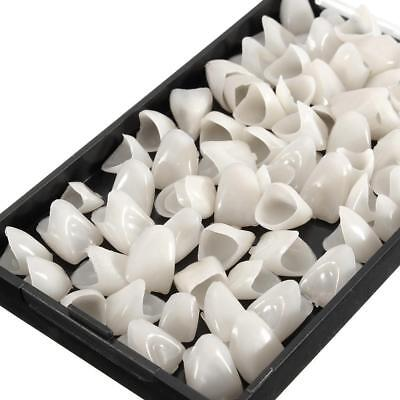 70Pcs/Box Dental Temporary Resin Crowns for Anterior Front Teeth Caps