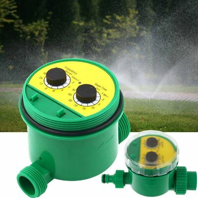 Two Dial Automatic Electronic Water Timer Garden Watering Irrigation Controllers