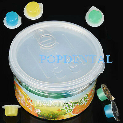 80Pcs Dental 3 Flavors Tooth Cleaning Polishing Paste for Teeth Whitening