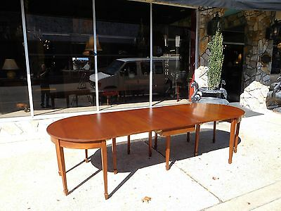 Outstanding Shop Made Banquet Dining Room Table By Pug Moore In Walnut 20thc
