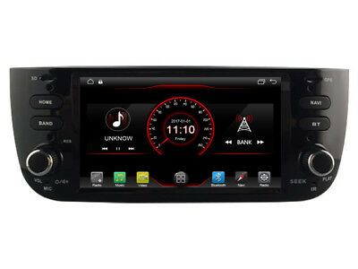"""6.2"""" Android 7.1 Car DVD Radio GPS for Fiat Punto Linea 2012-2016 DAB+ OBD2 3G"""