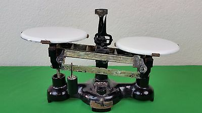 Antique Braun-Knecht-Heimann & Co.Balance Scale 110 Gram San Francisco