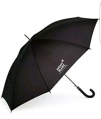 NEW Montblanc  Parfums Umbrella Black Executive Large Limited Edition.