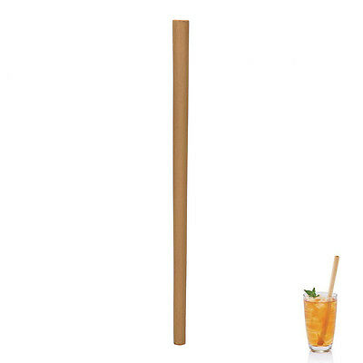 1Pc* Wood Straws Organic Bamboo Pattern For Wedding Birthday Biodegradable GXNW