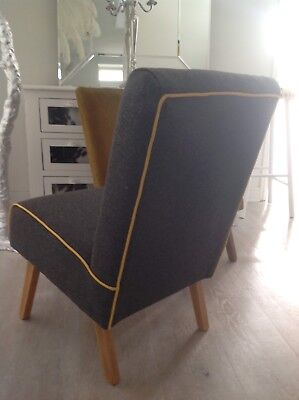 Retro cocktail chair 1950s 1960s