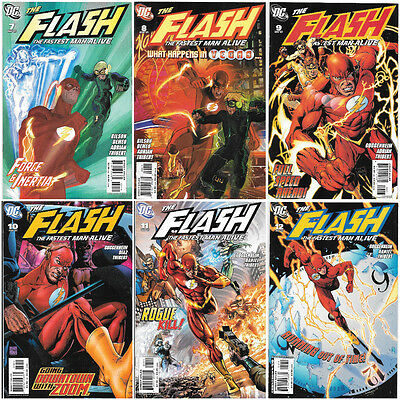 Flash The Fastest Man Alive 7-12 7 8 9 10 11 12 DC Comics