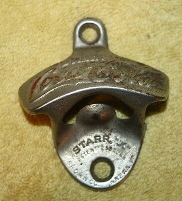 Vintage Drink Coca-Cola Starr X Bottle Opener Made in USA