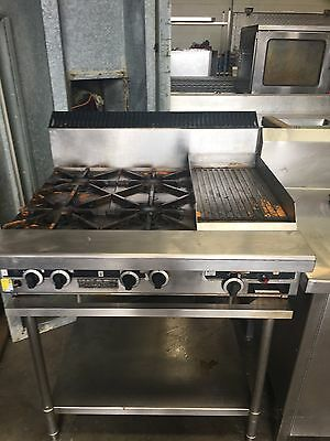 Garland 4 Burner Stove And Hot Plate Excellent Working  Condition