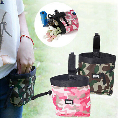 Multi-functional Obedience Bait Bag Training Treat Pocket Garbage Pouch Pet Dog