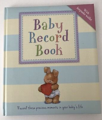 Baby Record Book With Keepsake Wallet