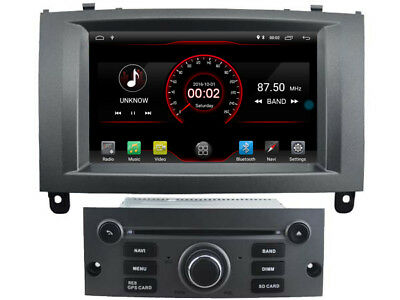 """7"""" Android 7.1 Car DVD Player Stereo Radio GPS for Peugeot 407 2004-2010 DAB+ 3G"""