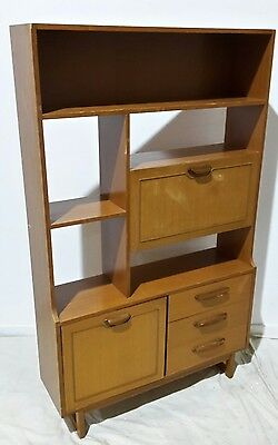 Stateroom by Stonehill room divider display cabinet in teak