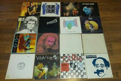 """Lot of 24 ROCK, country and  interviw album 12"""" Vinyl  G-VG+"""