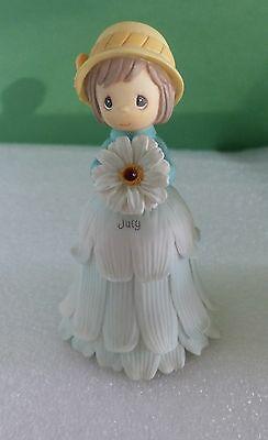 Precious Moments - Flower Girl Mini Bell - July   788651