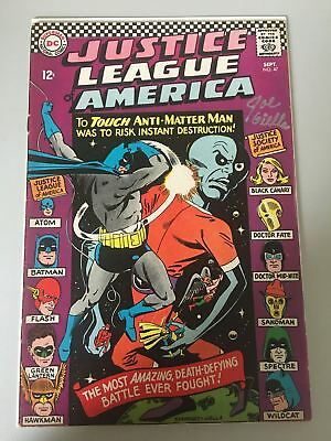 Justice League of America (1960 1st Series) #47 Signed by Joe Giella FN Fine