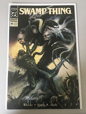 Swamp Thing (1982 2nd Series) #98 Signed by John Totleben VF Very Fine