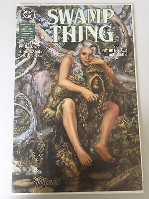 Swamp Thing (1982 2nd Series) #100 Signed by John Totleben NM Near Mint