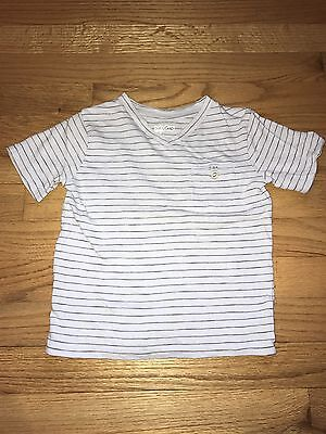 Infant Toddler Boys Baby Gap Striped Tee Shirt Size 2t