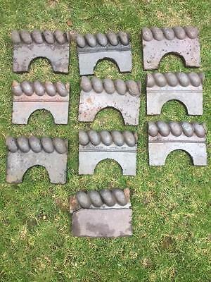 Reclaimed Victorian rope edge quarry garden / front path tiles