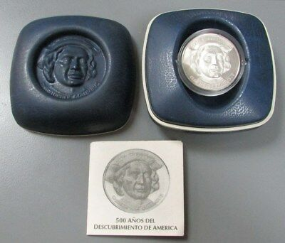 1492-1992 SILVER PROOF CHRISTOPHER COLUMBUS 500th ANNIVERSARY COIN