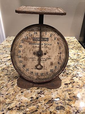 Vintage Antique Landers Frary & Clark Household 25 Lb Scale