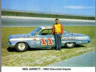 CD_928 #11 Ned Jarrett '62 Chevy   1:25 Scale Decals