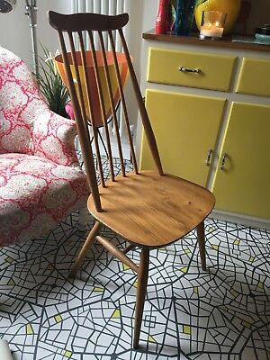 Single Ercol Blonde goldsmith  Dining Chair