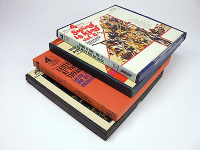 JAZZ Reel to Reel Tapes - Ted Heath, Lester Lanin, Bent Fabric QTY 4 Tapes