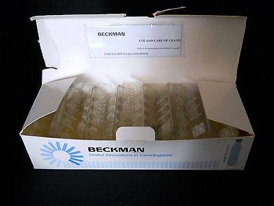 (Box of 46) Beckman Spinco OptiSeal 4.9ml Centrifuge Tubes & Plugs, 13 x 48 mm