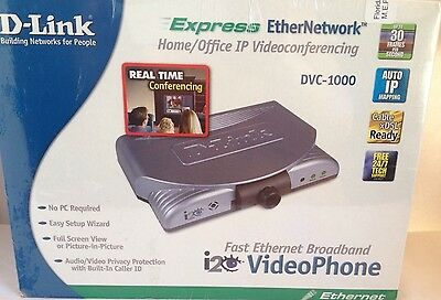 D-Link i2Eye DVC-1000 Video Phone Fast Ethernet Boardband, New in Box, Unopened