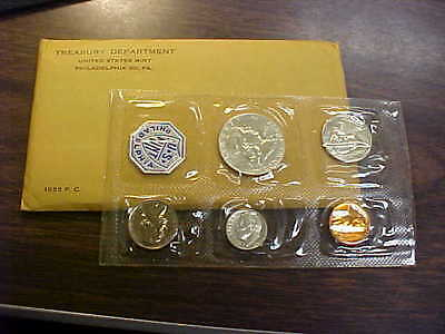 1955 US Mint Proof Set - Flatpack in Unopened Cello (with envelope) Great Set !