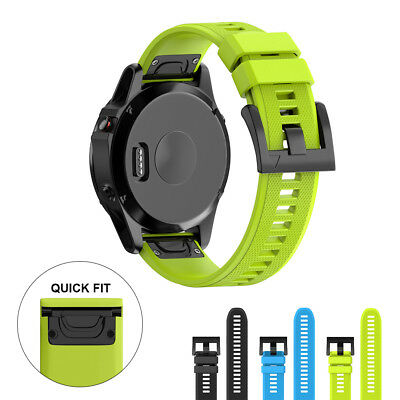 Replacement Silicone Quick Fast Install Band Watch Strap for Garmin Fenix 5/5X