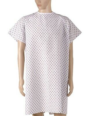 NEW DMI Convalescent Gown - Print with Back Ties - One Size Fits Most