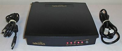 Centrepoint TalkSwitch PBX Telephone System CT.TS001.1 4 Line 8 Ext. with Cables
