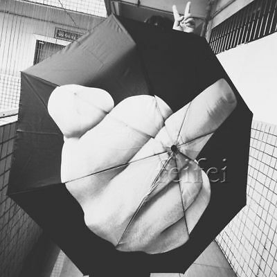 Up Yours / Middle Finger Umbrella / Brolly Foldable Creative umbrella
