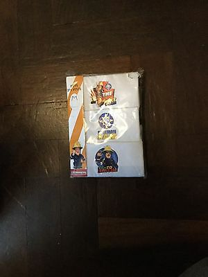 Fireman Sam Boys Vests Underwear 3 Pack New in the Packet